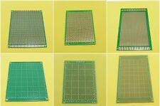 Universal Circuit Boards 9x15cm 7x9cm 5x7cm One Sided Soldering Glass Fiber PCB