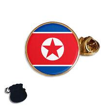NORTH KOREA FLAG ENAMEL LAPEL PIN BADGE GIFT