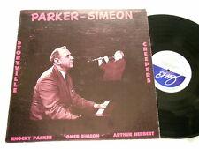 OMER SIMEON & KNOCKY PARKER Storyville Creepers Arthur Herbert LP