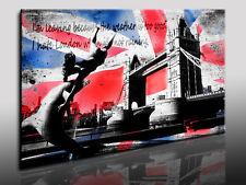 London Brücke, Fotoleinwand24, Kunstdruck, Wandbild, Bild, Leinwandbild N8712