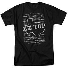 Zz Top Barbed Mens Short Sleeve Shirt