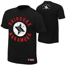 "WWE Shinsuke Nakamura ""The Artist"" Authentic T-Shirt *NEU* Official Shirt"