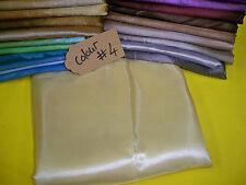 chamnpagne polyester Satin chameleonic fabric curtain wedding crepe satin fabric