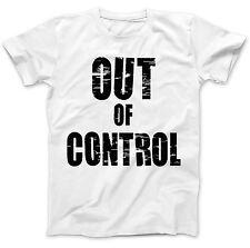 Fuera de control usado por Joe Strummer Camiseta 100% Algodón Premium