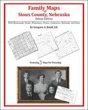 Family Maps Sioux County Nebraska Genealogy NE Plat