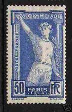 "FRANCE 1924 Y&T 186 ""50c JEUX OLYMPIQUES"", NEUFxx TTB"