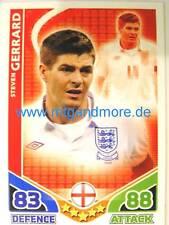 Match Attax World Stars - Steven Gerrard - England