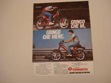 advertising Pubblicità 1983 CIMATTI GRINGO 50