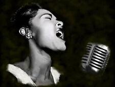 61988 Billie Holiday Jazz Wall Print Poster CA