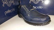 Pelle Pelle Black / Brown / Navy Leather Lace Up Dress Shoes Size 7.5-12