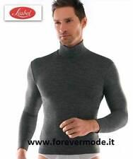 Maglia uomo Liabel collo dolcevita liscio in misto lana liscia art 5136-153