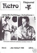 Film -Retro-Filmjournal- 10 --Paul Hörbiger