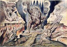 William Blake Illustrations: Dante's Divine Comedy - Minos - Fine Art Print