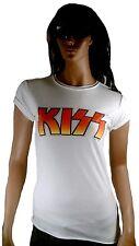 AMPLIFIED KISS Band Logo Rock Star Vintage T-Shirt g.M