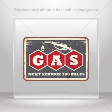 Decals Decal Vintage Gas Station Sign Atv Bike Garage bike st5 X346X
