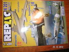 Replic n°201 HP Victor K Mk2 Messerschmitt Bf 110C Macchi C.202