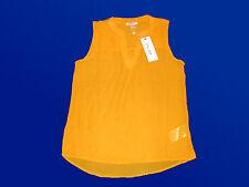 moderne Damenbluse Bluse Tunika Sommerbluse Gr. XS & S  34& 36 gelb v.AMISU NEU