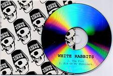 WHITE RABBITS The Plot 2007 UK 2-track promo test CD