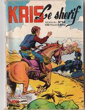 KRIS LE SHERIF n°14 - Mon Journal 1961