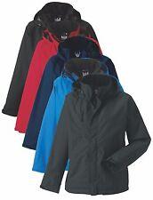 Russell Hommes Uni NOIR BLEU,GRIS/ROUGE Manteau Imperméable avec capuchon XS-4XL
