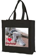Greyhound, Cotton Shopping Bag, Choice of Colour,