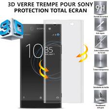 3D Film de protection VERRE TREMPÉ intégral écran Sony XZ2/Compact/XA2/Ultra/XA1