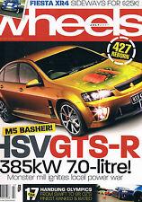Wheels Jul 07 VW Golf Mazda 3 LS7 Chev Commodore Q7 S3 Corolla ZR MX5 MPS Omega