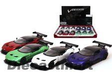 Kinsmart 1:38 Display Aston Martin Vulcan Diecast Model Red/Green/Blue/ White