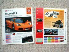 SUPERCARs BROCHURE Collection:Vector,Ferrari F50,XJ220,