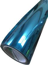 Espejo de una forma Reflectante Azul Tintado Película Adhesiva con respaldo Tinte