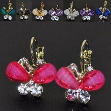 Ohrringe Schmetterlinge 7 FARBEN Mariposa Pendientes Kinderschmuck bunt