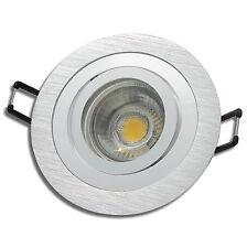 1-/>10er Sets Decke EEK A+ IP20 Strahler// 220V 5W LED Spots Federring