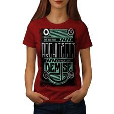 Somos arquitectos Vintage Mujer T-shirt new | wellcoda