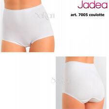 6 Slip Jadea Cotone Bielastico Art.7005 Coulotte Bianco Nero 4 5 6 7 8 Intimo