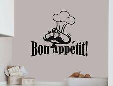 Bon appetit wall sticker | Kitchen wall stickers