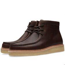 Clarks Original ** Desert Beckery Hiker** Soft Dark Brown Leather ** UK 8,9,10