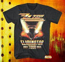 New ZZ Top Eliminator 1983 1984 Tour Concert Rock Mens Vintage Classic T-Shirt