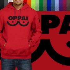One-Punch-Man Manga Anime Saitama Oppai Pullover Hoodie Jacket Hooded Sweater