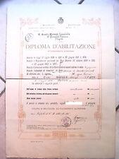 DIPLOMA Abilitazione Insegnante Eleonora Pimentel Fonseca Napoli TOLVE POTENZA 1