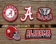 Iron On Sew On Transfer Applique Alabama Crimson Tide Handmade Cotton Patches