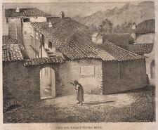 1864 Sagliano Pietro Micca xilografia