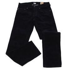 6094R Pantaloni blu bimbo ARMANI JUNIOR cotone velluto  trousers pants kids