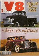 V8 MAGAZINE 42 PANOZ 385cv WOODIES DOD RAMCHARGER 547cv