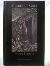 STEVE URWIN.SHADES OF GREY DREAMS DIARIES DEBRIS.1ST S/B 2011 RED SQUIRREL V/G
