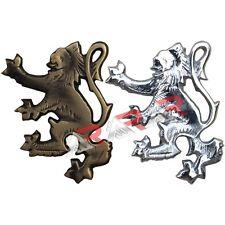"Scottish Lion Rampant Kilt Pin Antique/Chrome Plated 2""/Kilt Pins High Quality"