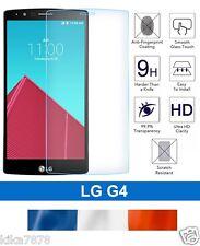 vitre protection verre trempé film de protecteur d'écran pour LG G4