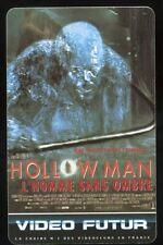 VIDEO FUTUR carte collector  HOLLOWMAN   (159)