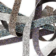 Genuine SWAROVSKI 57000 1cm Width Crystal Fabric Bandings Synthetics Hotfix