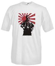 T-shirt Maglietta J672 Tora Tora Tora Kamikaze Samurai Japan Maglia Cotone 100%