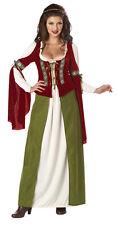 Maid Marian Robin Hood Adult Women Renissance Costume
